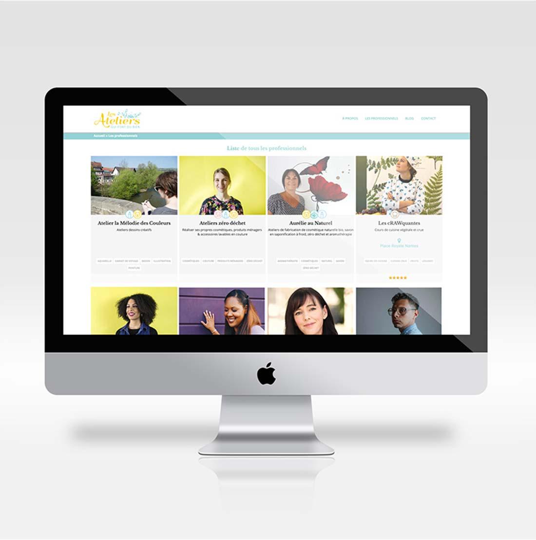 webdesign les ateliers qui font du bien