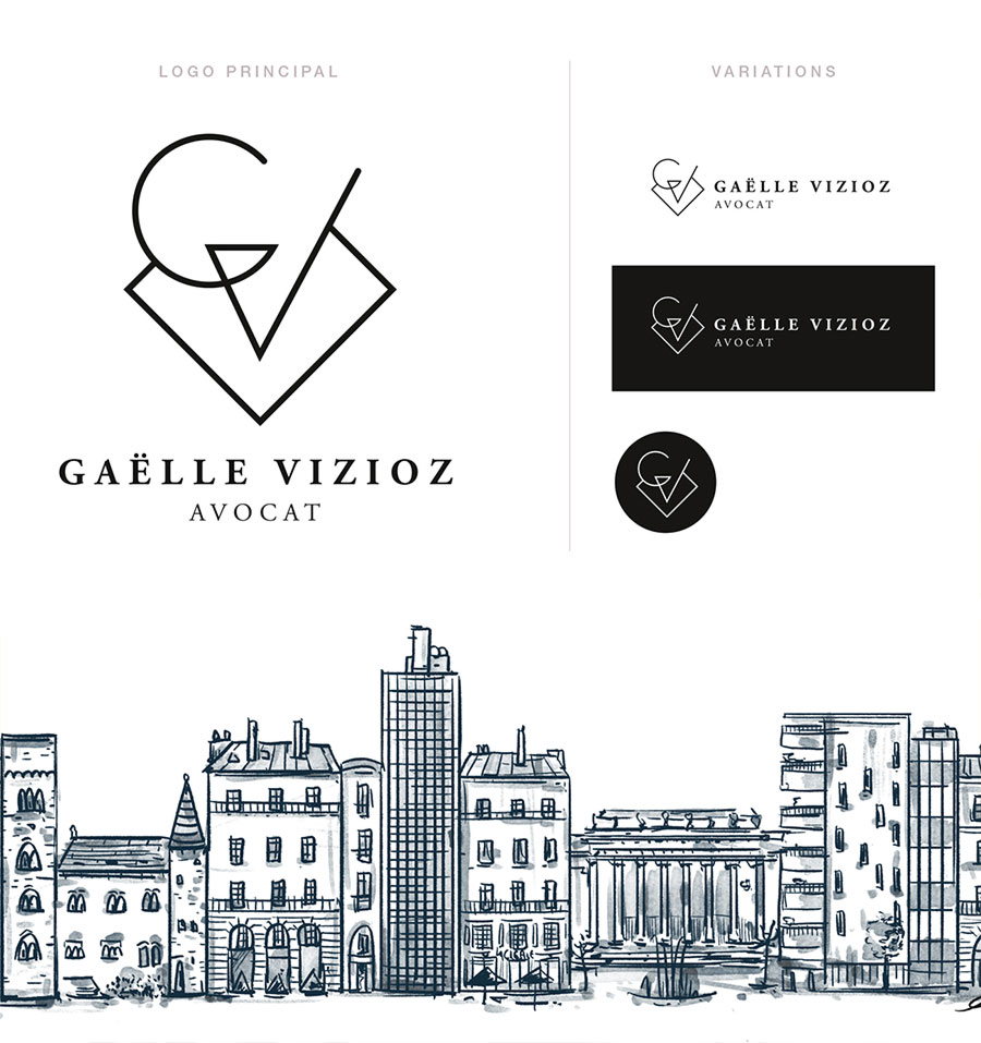 Gaelle Vizioz - identité visuelle