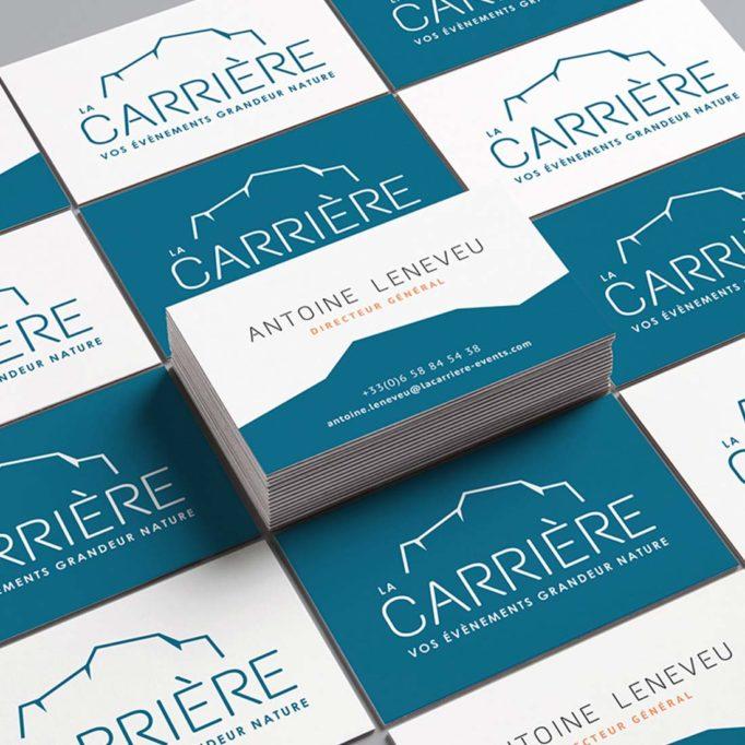 carte de visite La Carrière