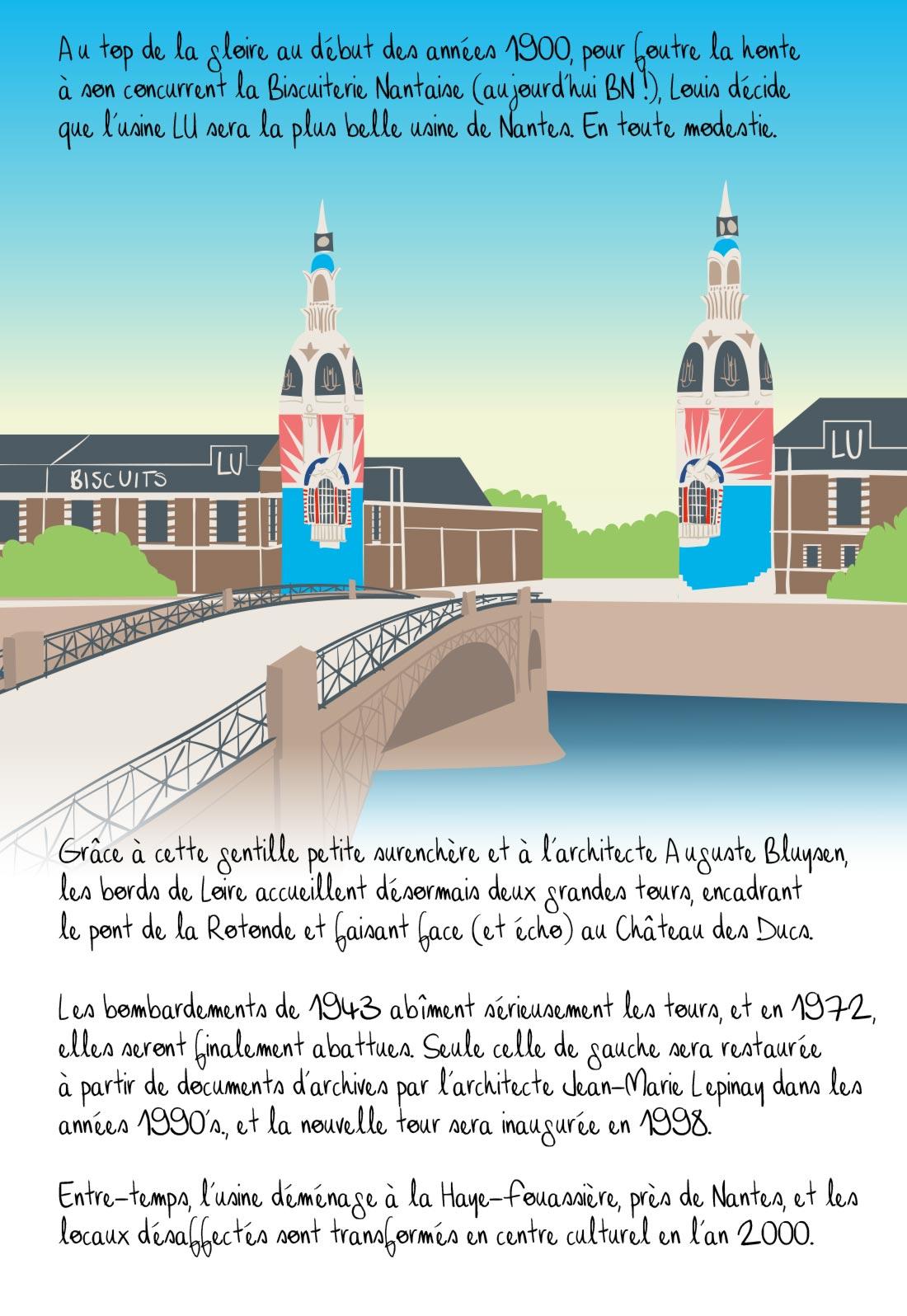 Histoire de la tour LU, Nantes, partie 3