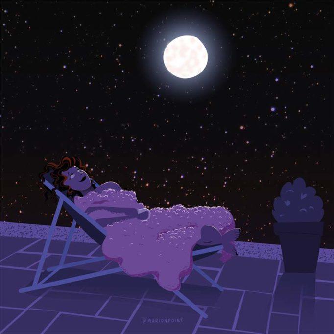 marion point : nuit à la belle étoile