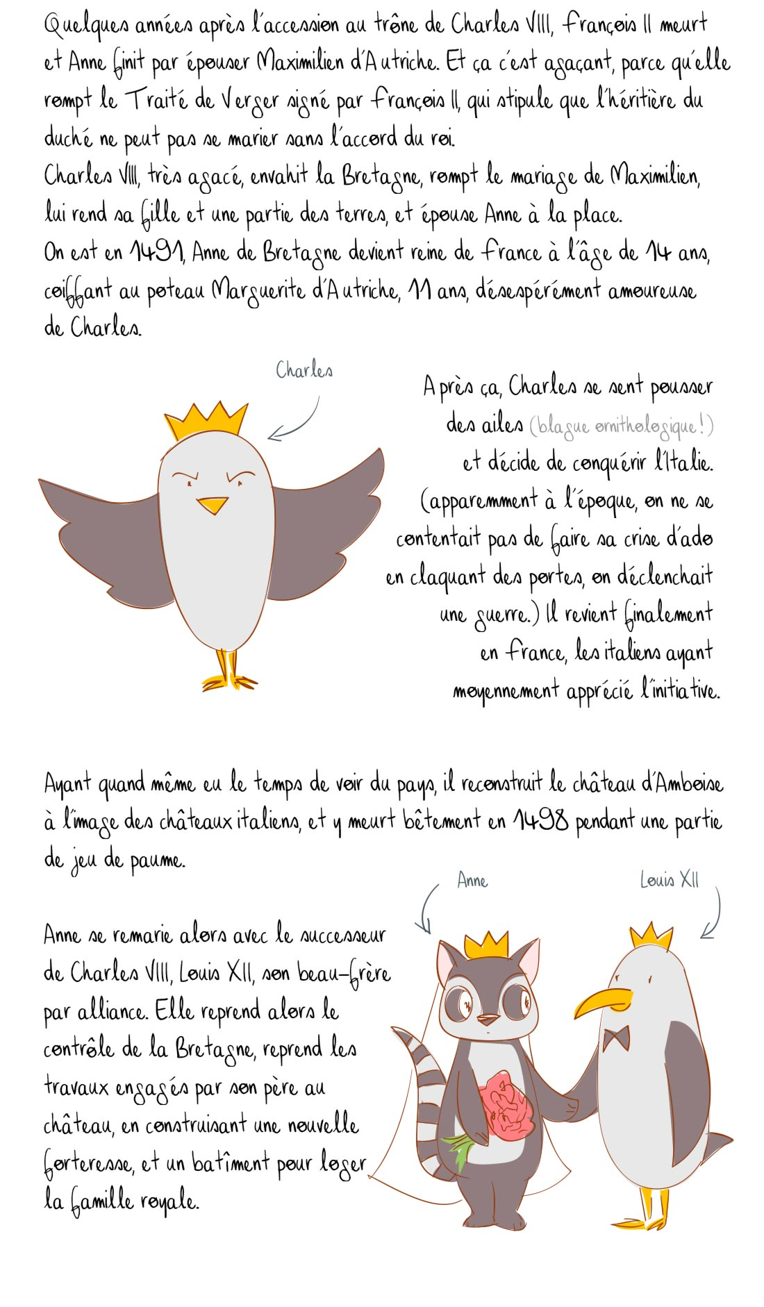 Histoire du Château des Ducs de Bretagne, Nantes, partie 5