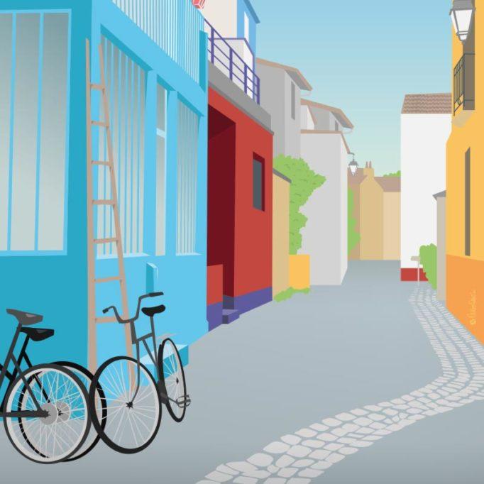 Illustration de Trentemoult, Nantes