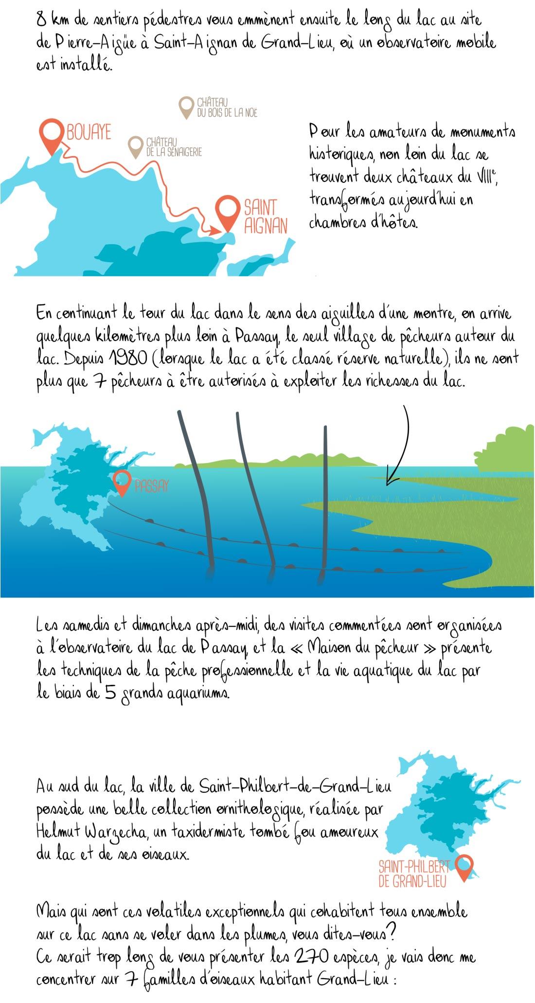 Histoire du lac de Grand-Lieu, Bouaye, partie 2