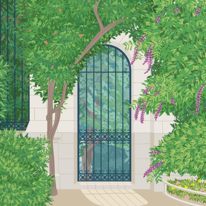Histoire du jardin des plantes de Nantes