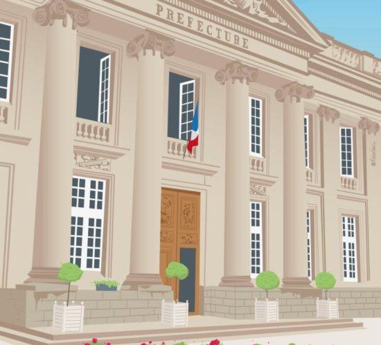 Histoire de la préfecture de Nantes