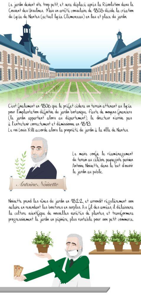 Histoire du jardin des plantes de Nantes, partie 2