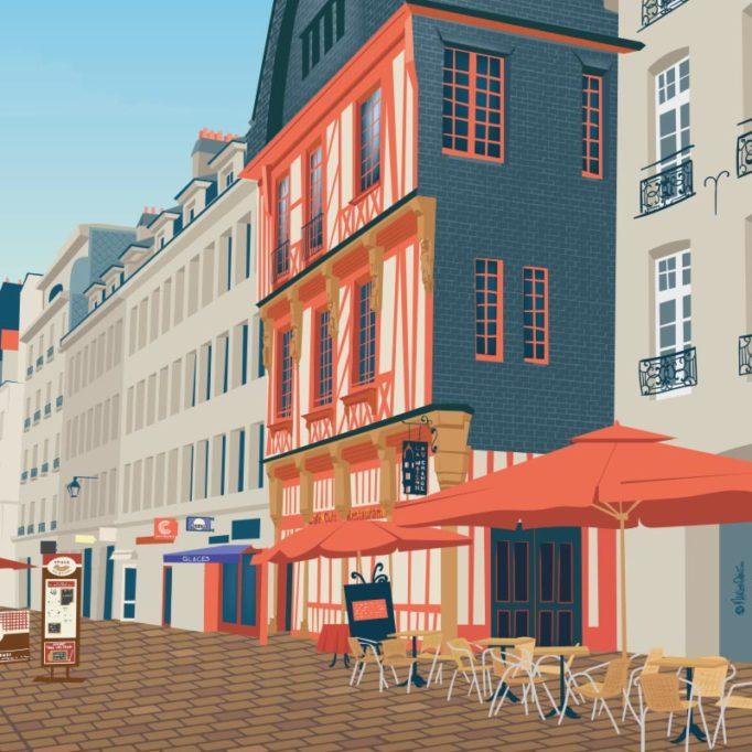 Histoire illustrée du Bouffay, Nantes