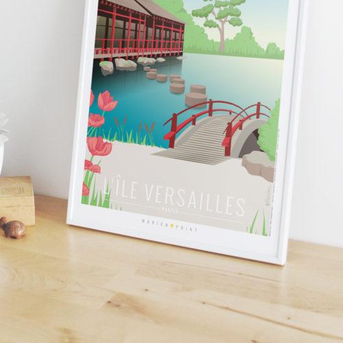 Affiche - Ile Versailles