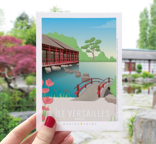 Carte postale - Ile Versailles