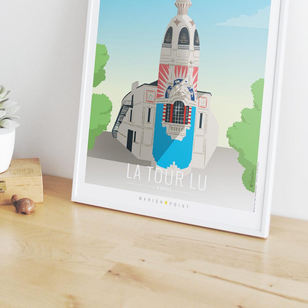 Affiche - Tour LU