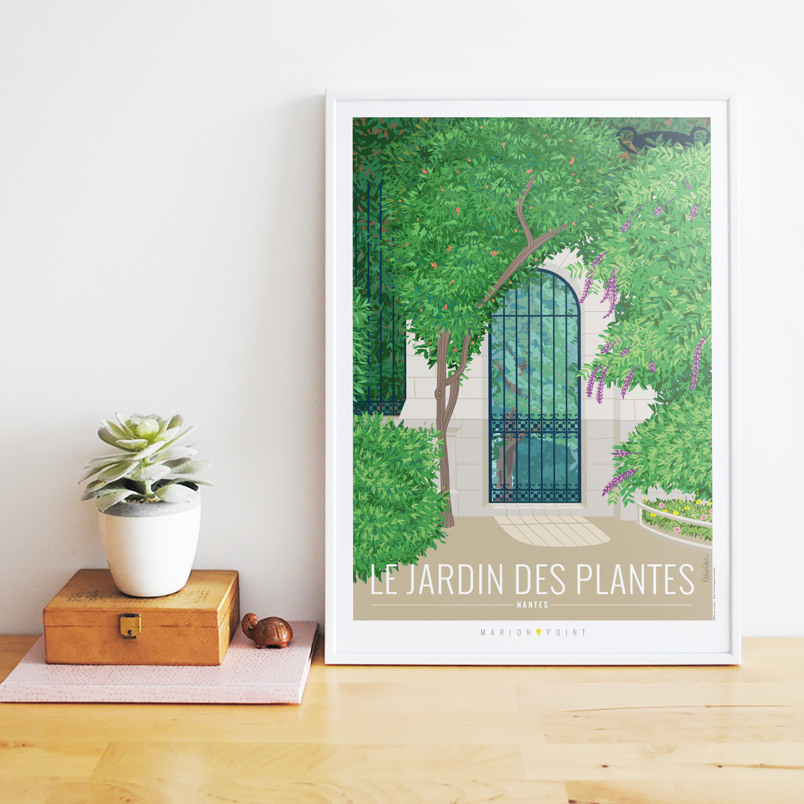 Affiche - Jardin des plantes