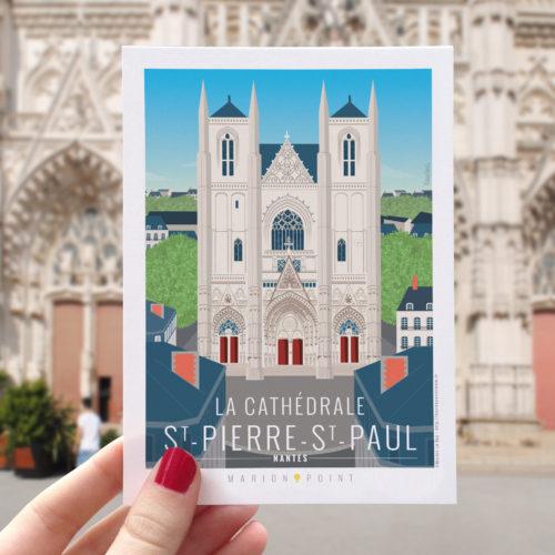Carte postale - Cathédrale St Pierre St Paul