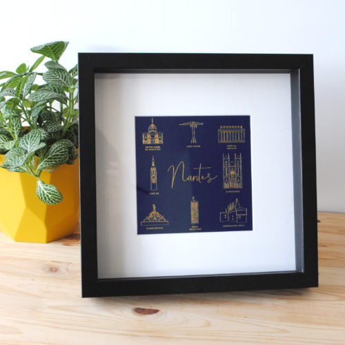 Impression luxe - Nantes Gold & Blue