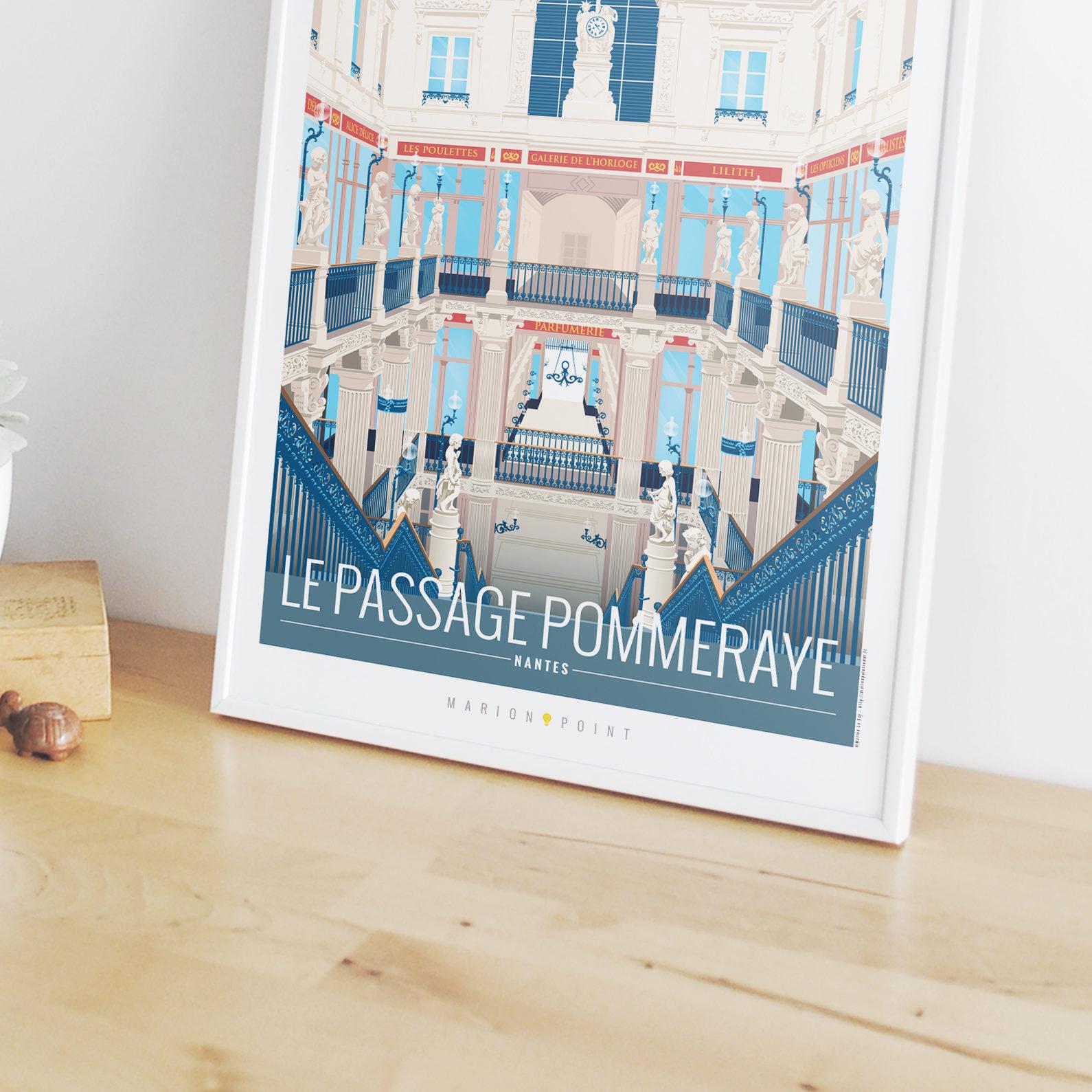 Affiche - Passage Pommeraye