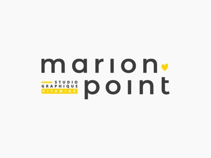 Marion Point - identité visuelle